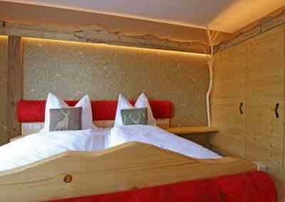 Ferienwohnung im Erzgebirge Doppelbett